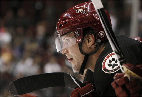 Shane Doan, RW Height/weight: 6-1, 222 2011-12 statistics: 22 goals, 28 assists The 36-year-old Coyotes captain has never played for another organization, but Phoenix's unsettled ownership situation leaves the status of their impending free agents uncertain as well. Doan is reportedly asking for a four-year deal, which might be enough to scare the Bruins away.