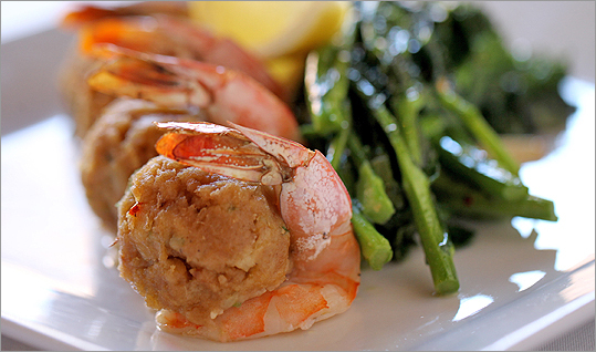 Stuffed shrimp