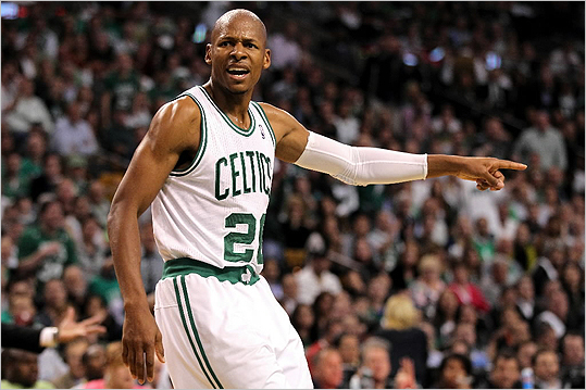 Celtics president Danny Ainge said re-signing Ray Allen is a priority for the team.