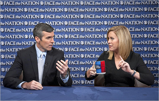 Kevin Madden, senior adviser to the Romney campaign, and Stephanie Cutter, deputy campaign manager for President Obama, spoke on 'Face the Nation' in Washington, D.C.
