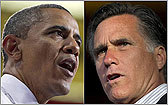 Romney vs. Obama campaign ads