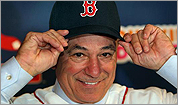 Bobby Valentine in the spotlight