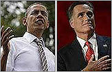 Obama heads to DNC, Romney stays on the trail