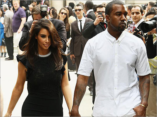 Did you guess Kim Kardashian ? Yes, it was this reality TV star, currently dating rapper Kanye West (the couple is pictured left), who told the ladies on The View she is a homebody.