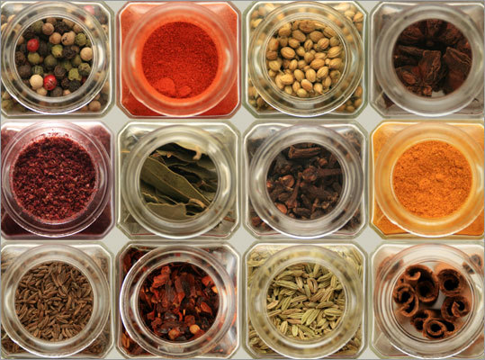 A jar of ground spices or herbs, such as cinnamon and rosemary, stored at room temperature will keep at peak quality for: