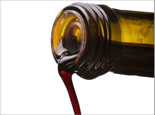 You received a bottle of luscious balsamic vinegar as a gift last year during the holidays. You have used only about a half of the bottle. You should: