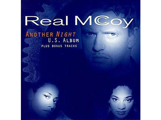 What is Real McCoy saying in 'Another Night'?