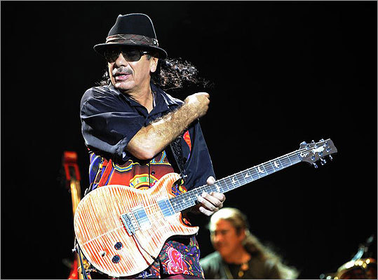 Show us how 'Smooth' you are by giving us the lyrics to this Santana song