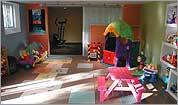 How to turn your basement into a kids' playroom