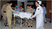 Pakistan sends girl shot by Taliban to UK for care