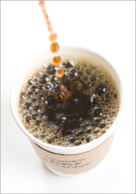 What percentage of workers say they need coffee to get through the work day? Correct! This answer is incorrect. Please try again. 27 48 62