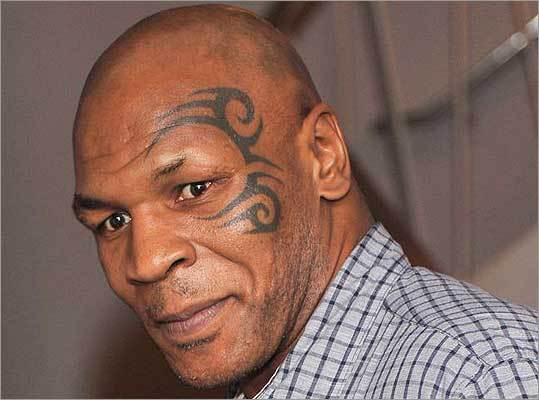 Mike Tyson 's tattoo around his left eye was inspired by the indigenous Maori people of New Zealand. But that didn't stop New Zealand from banning the retired boxer and convicted rapist of visiting its land for a speaking engagement in October, reported nbcnews.com .