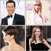 Best red carpet looks for 2012