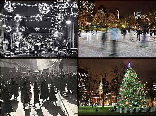 Ever wonder what Boston looked like during the holiday season for your parents' generation, or even your grandparents'? We've compiled a before-and-after interactive gallery to highlight the changes -- and similarities -- our city has undergone in the past few decades. Take a look at famous spots decked out in holiday cheer, like the Frog Pond, Washington Street, and Boston Common.