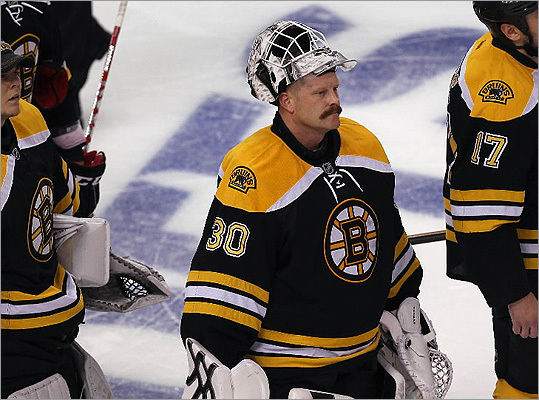 The Boston Bruins have confirmed that they have traded two-time Vezina Trophy winner Tim Thomas to the New York Islanders. Thomas told the Bruins last summer that he did not intend to play this season, and it's not known now if he has changed his mind or if the Islanders have acquired him in hopes of his coming out of semi-retirement. Take a look at the former Bruins goalie's history with the organization.