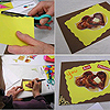 Easy-to-make Valentine's Day cards using recycled materials