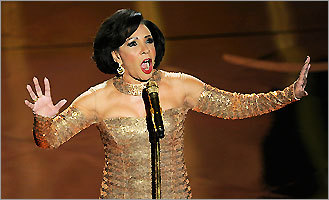 Singer Shirley Bassey