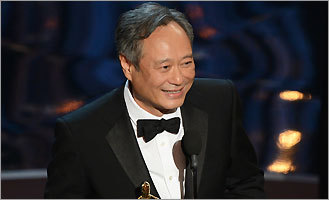 Best Director winner Ang Lee