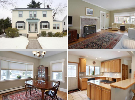 This Belmont house has four bedroom, 1 &frac12 bathrooms, and 1,696 square feet of living space. How much does this house cost? Correct! This answer is incorrect. Please try again. $596,000 $667,000 $735,000