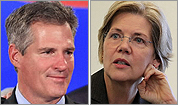 Scott Brown vs. Elizabeth Warren