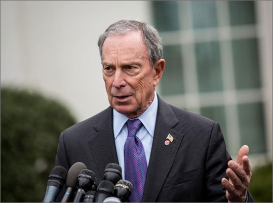 13. Michael Bloomberg Estimated net worth: $27 billion Currently in his last term as the Mayor of New York City, Bloomberg is the seventh richest person in the country. He made his fortune through his company, Bloomberg LP. Forbes profile