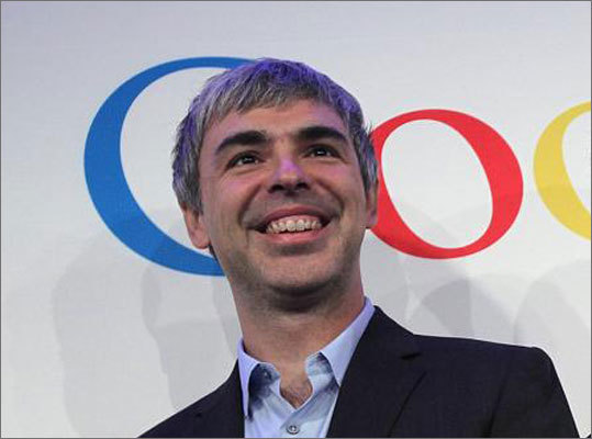 20. Larry Page Estimated net worth: $23 billion Page is the cofounder and CEO of Google as well as the 13th richest person in the country. The company's stock rose almost 30 percent since last year and saw more than $50 billion in revenue in 2012. Forbes profile