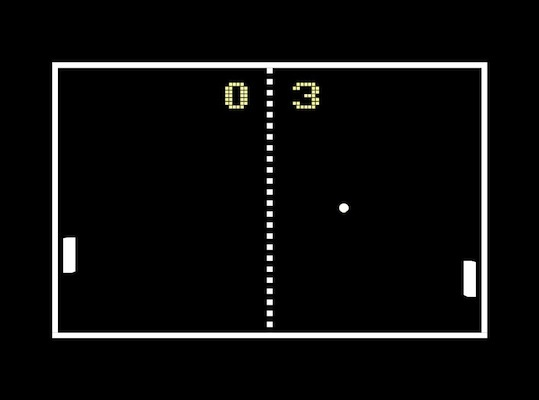 Pong was incredibly popular and it was the first commercially successful video game. In 1975, Atari's Home Pong became one of the earliest home gaming consoles. It was released exclusively through Sears.