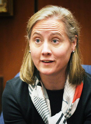 Sandra Boss, Gerhartsreiter's ex-wife, testified during his trial.