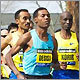 Boston Marathon scenes