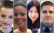 Photos of the victims