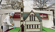 UMass-Amherst Old Chapel cake
