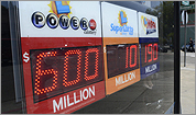 Watch: Powerball frenzy, jackpot growing