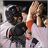 Ortiz delivers with two homers
