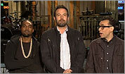 Watch: Kanye, Stefon steal show from Affleck