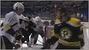 Watch: Providence Bruins playoff brawl
