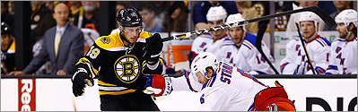 Bruins seek to go up 2-0 against Rangers