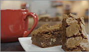 Watch: Chewy toffee bars recipe