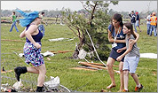 Teachers credited with saving students in Oklahoma tornado