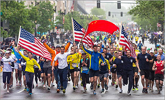 Scenes from the OneRun