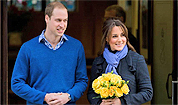 Catherine, Duchess of Cambridge, and Prince William