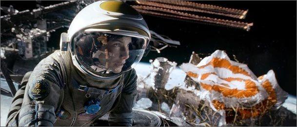 Sandra Bullock is up for Best Actress for her role in Gravity, which, along with American Hustle, led all movies with 10 Oscar nominations.