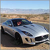 In the desert with the F-Type Coupe