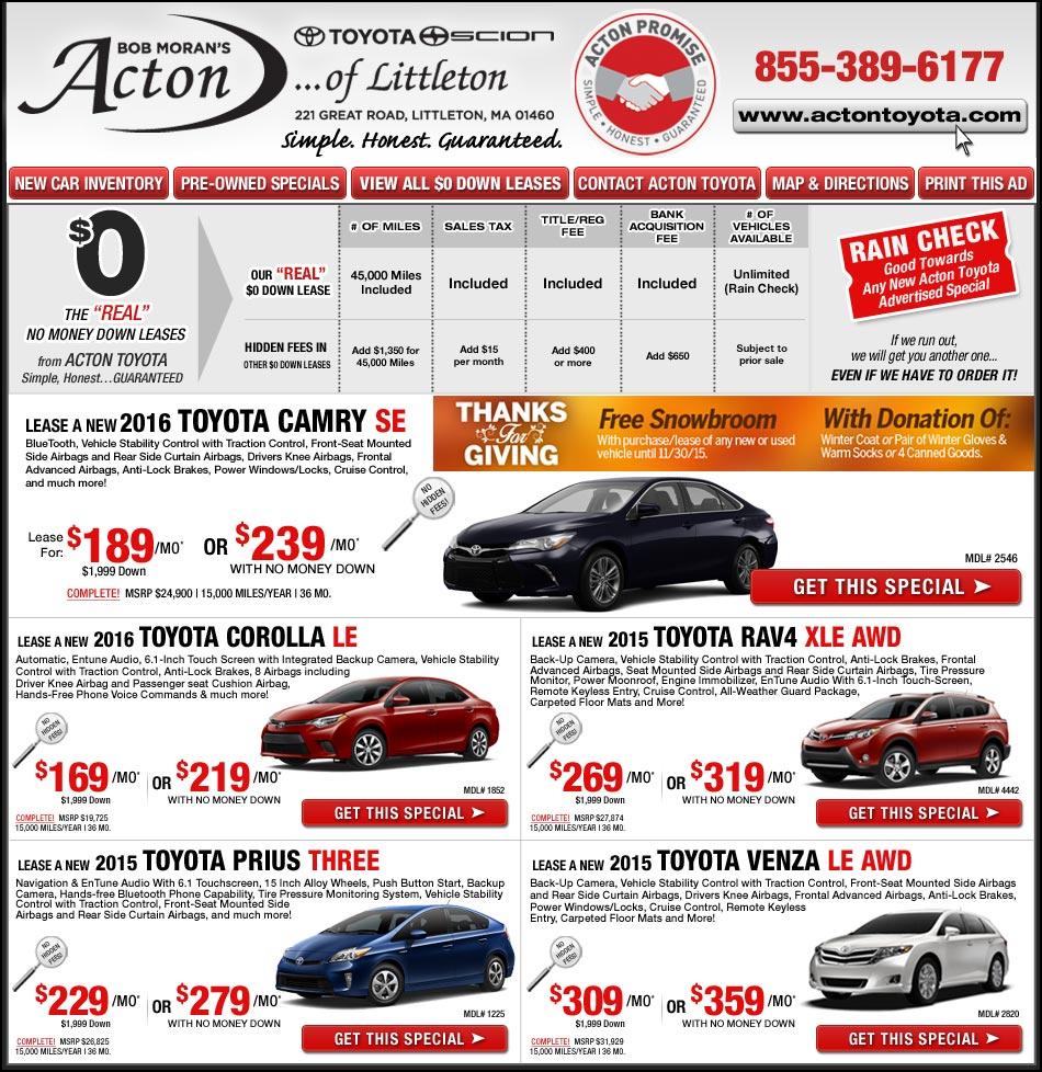 Toyota Dealers Acton: Toyota of Littleton