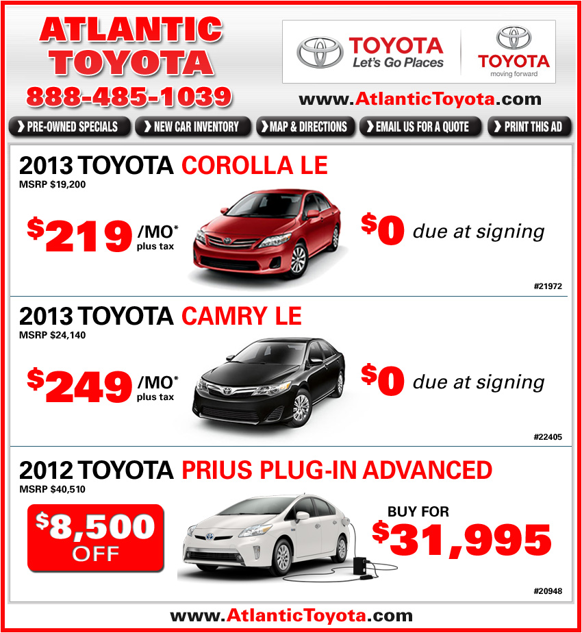 Toyota Dealers Ma Autos Post
