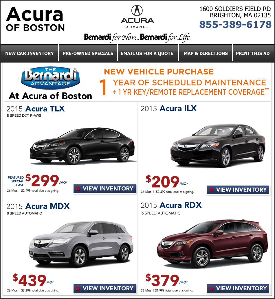 Acura Lease Deals Maryland