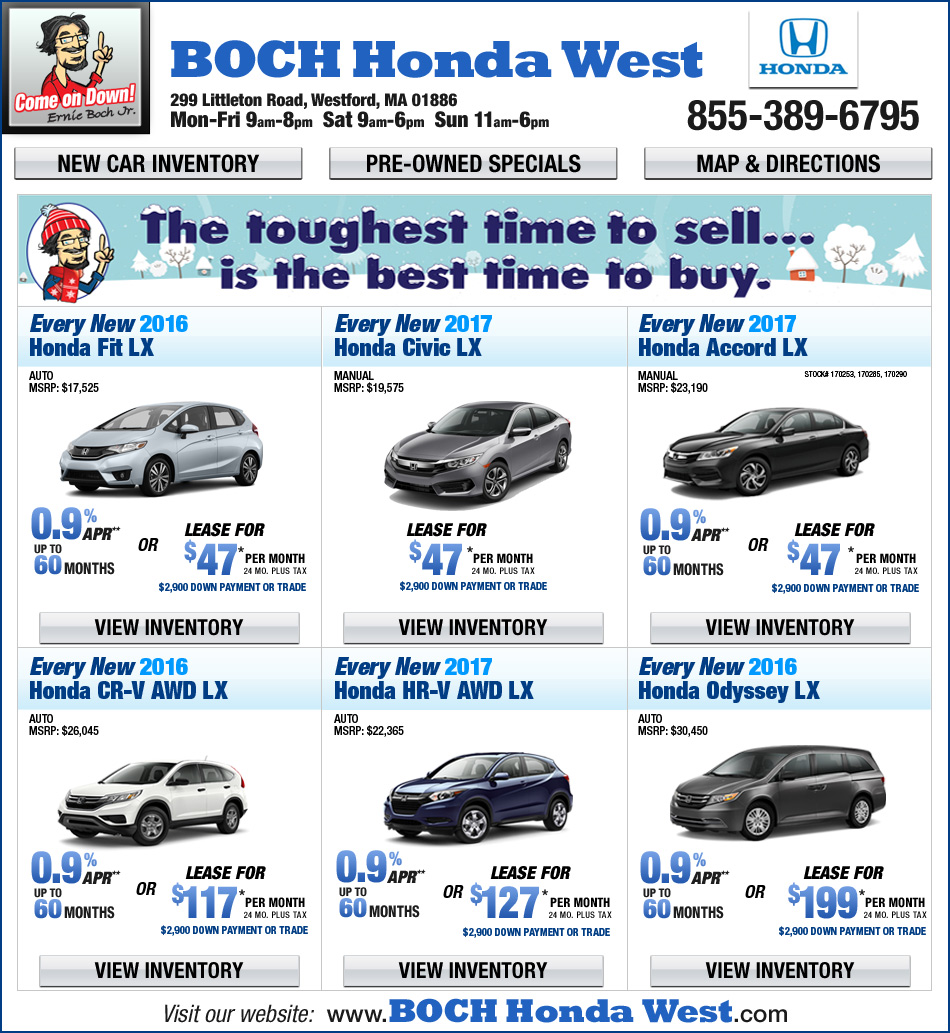 Boch ford for Boch honda norwood service