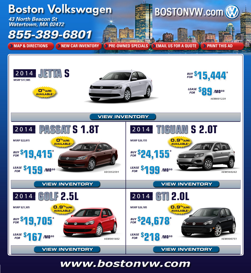 Best lease deals boston ma