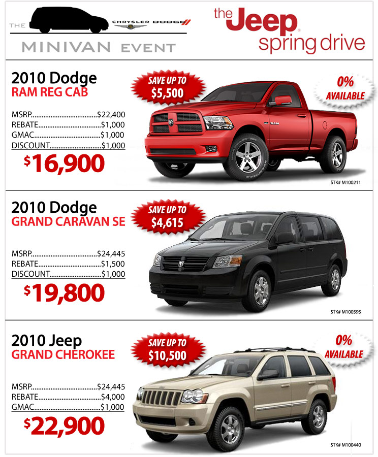 Central Chrysler Jeep New Car Deals
