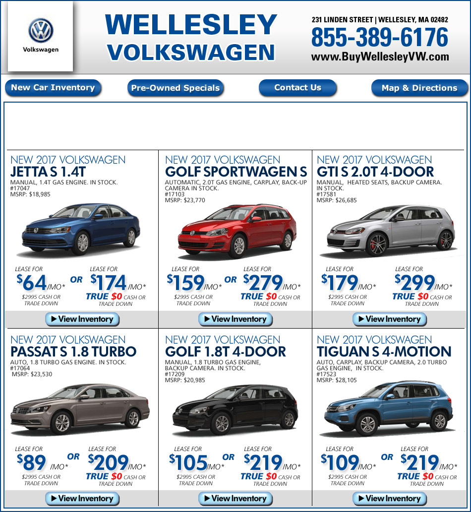 massachusetts volkswagen dealers wellesley volkswagen mass
