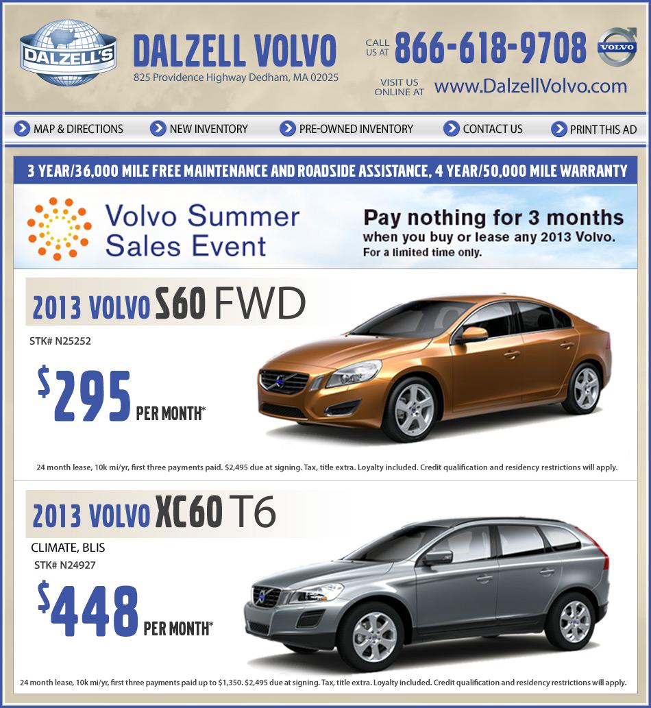Volvo Dealers Pa: Volvo Dealer In Dedham, MA, Dalzell Volvo On Boston.com